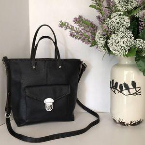 Dana Buchman black crossbody bag